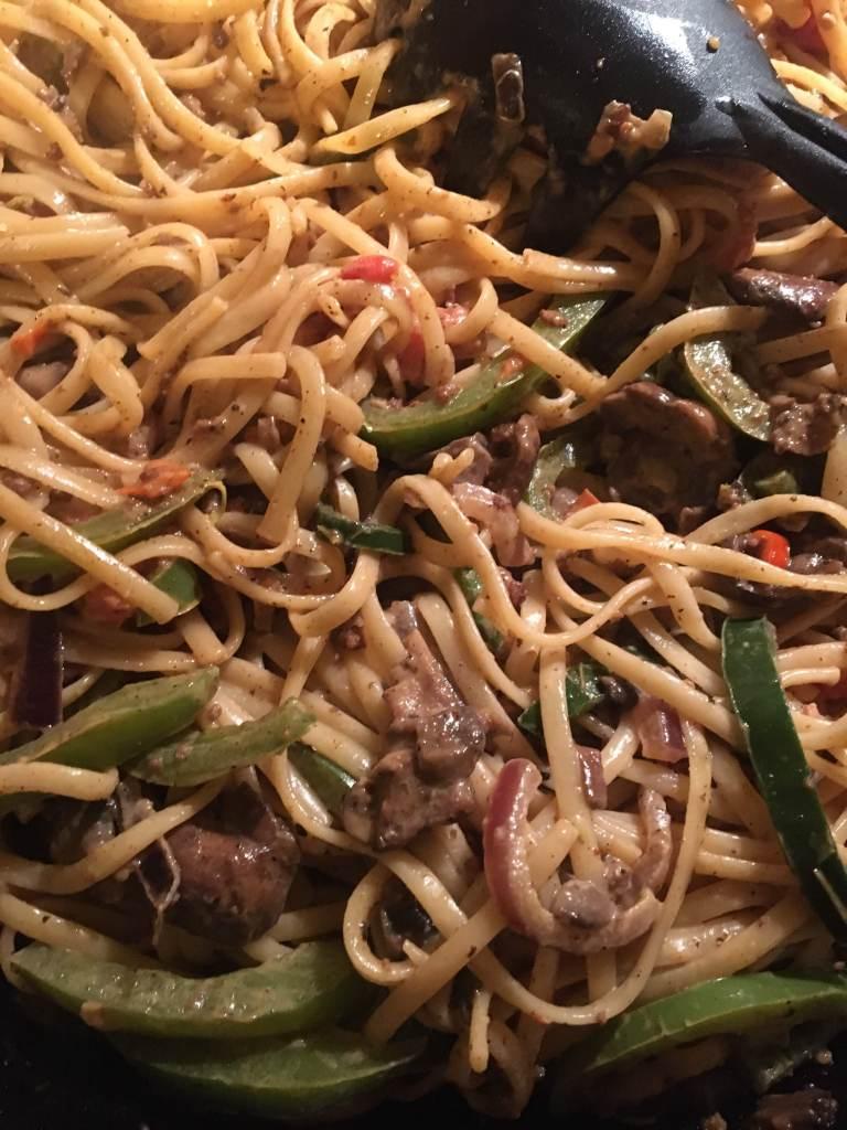 cajun pepper pasta